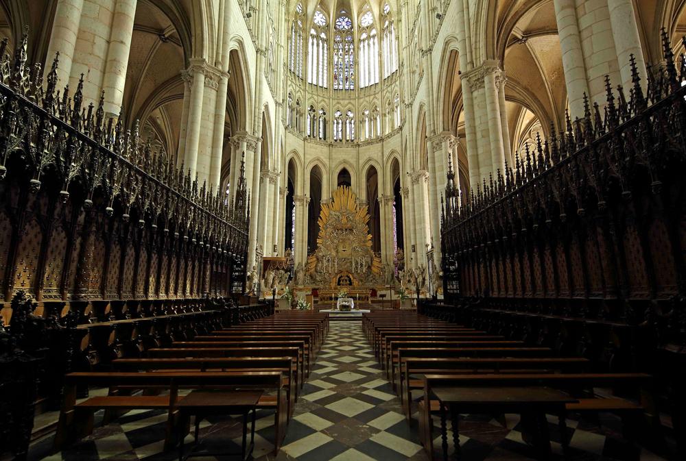 Stalles du choeur de la cathédrale d'Amiens.