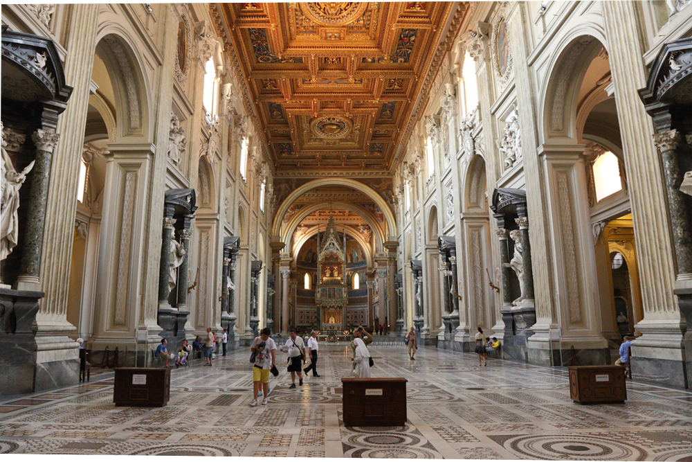 Cathédrale Saint-Jean de Latran, Rome.